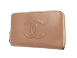 TheRealReal Chanel Caviar Timeless Organizer Wallet