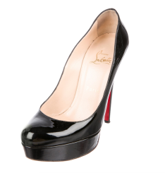 TheRealReal Christian Louboutin Bianca Patent Leather Pumps