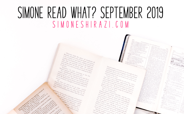 Simone Read What? – September '19
