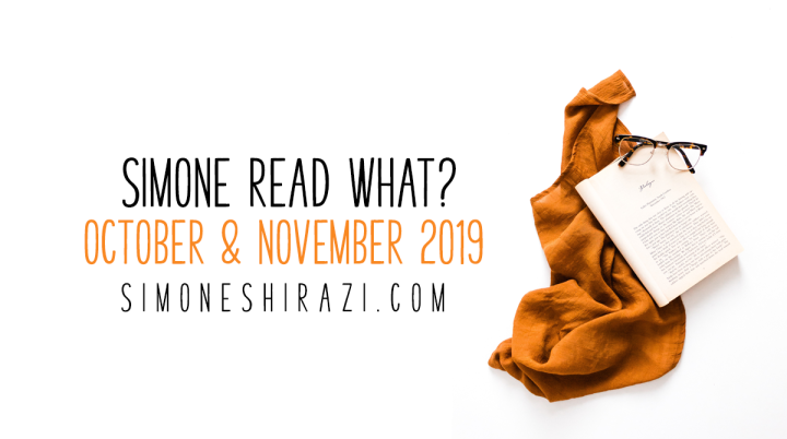 Simone Read What? – October & November '19