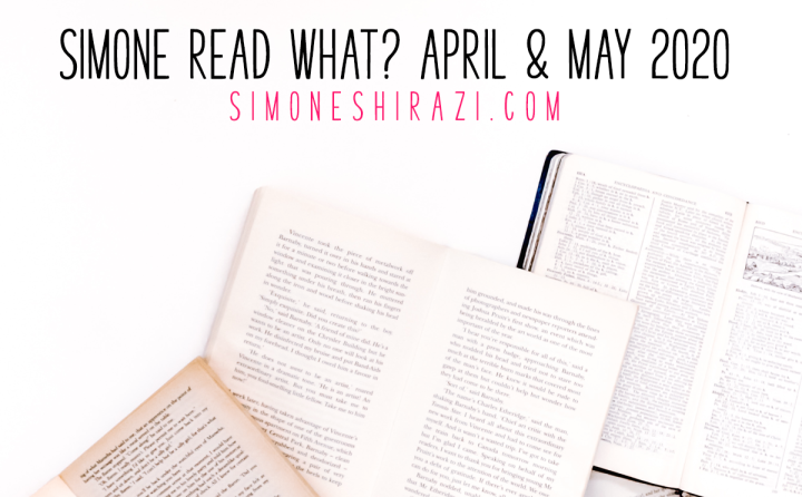 Simone Read What? – April & May '20