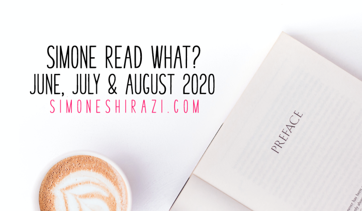 Simone Read What? – June, July, August'20